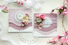 Elena Olinevich: Layered Curved Borders - Spellbinders