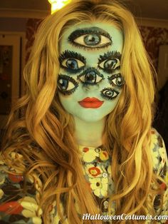 Halloween makeup  Halloween Costumes 2013