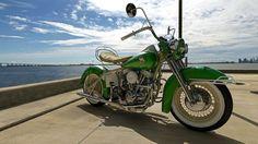 1957 Harley Davidson Panhead by melkorius.deviantart.com on @DeviantArt