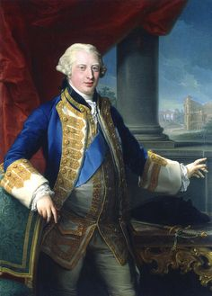 Pompeo Batoni, Portrait of Edward Augustus, Duke of York and Albany, 1764. Rome, Galleria Cesare Lampronti