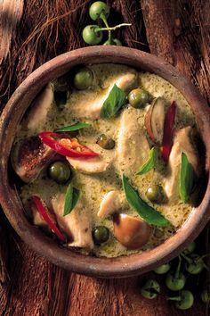 La recette curry vert Thaï