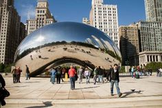 The Bean in Chicago, IL #travel