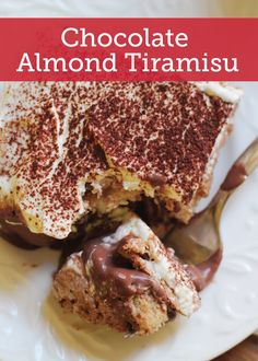 This Chocolate Almond Tiramisu is the perfect spin on your traditional recipe. Turn everyone's favorite dessert dish into something extra special!
