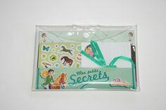 """Set Papeterie Correspondance """"Mes Petits Secrets Chevaux"""" LILI CHANTILLY : Kits, tutoriels Activités Enfants par boutique-creative-by-c-dona"""