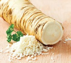 Horseradish isn't just that powerful, nose-blasting stuff that your mother used to put in her sandwich, or that the Japanese put on their sushi. It's actua