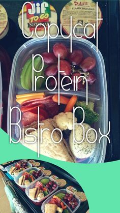 Copycat Starbucks Protein Bistro Box - so easy and much cheaper to do yourself!