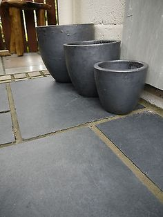 Black Limestone - Natural Indian Stone patio paving slabs. TRADE ...