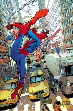 The Amazing Spider-Man #19 Comic Book preview page, by Cam Smith & Giuseppe Camuncoli