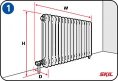 You can make your interior more attractive with a radiator housing. Diy Radiator Cover, Diy Crafts And Hobbies, Industrial Kitchen Design, New York Loft, Home Organisation, Diy Wood Projects, Home Staging, Home Renovation, Interior Design