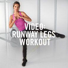 Video: Runway Legs Workout