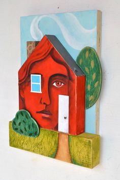"""""""Home is wherever you are.""""... a little cheesy but I like the 3d nature of the project"""