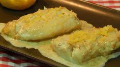 Bacalao a la crema al limón receta fácil