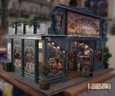 Miniaturas del Minimundo de Paco: Tienda de Ultramarinos-grocery store
