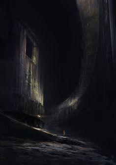 Underground Silo, Felipe Escobar on ArtStation at https://www.artstation.com/artwork/underground-silo