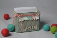 Sale-A-Bration Blog Hop: Zettelbox + Video - Basteln mit Stampin' Up!