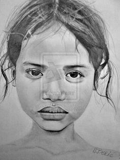 Cambodian Girl by NAcaNs