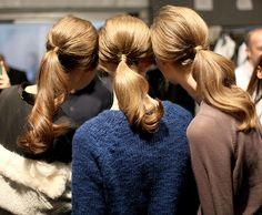Tendencias en peinados belleza coleta baja