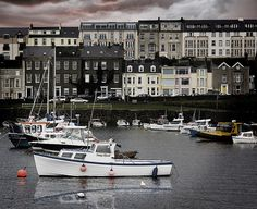 Portrush Harbour,,, always remember my regular business trips to this place,,
