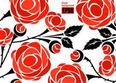 Rose background 03