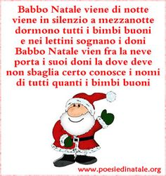 Filastrocca di Babbo Natale Christmas Games, Christmas 2017, Xmas, Learn To Speak Italian, Google Image Search, Homemade Christmas Decorations, Foto Blog, Italian Language, Home Activities