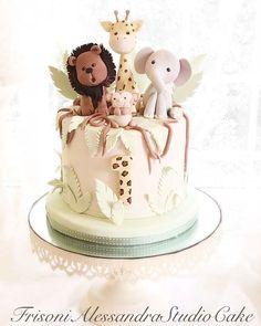 Animal cakes for children sweet animal cake . - Animal cakes for children sweet animal cake … - Safari Birthday Cakes, Baby Boy Birthday Cake, Safari Cakes, Birthday Cakes For Teens, First Birthday Cakes, Teen Birthday, Animal Cakes For Kids, Zoo Animal Cakes, Animal Cake Pops