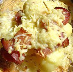 patatas al emmental Receta rapidísima