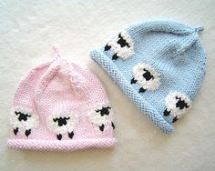Knit a cute beanie ringed with woolly little lambs from this simple knitting pattern. Makes a great baby shower gift! The AVERY beanie - designed with love for comfort, warmth, and style. • PDF KNITTING PATTERN ONLY - NOT a finished item • Pattern includes 5 sizes: Newborn * Baby * Toddler * Child * Adult • Skill Level - Intermediate • Pattern is written in ENGLISH and uses standard U.S. knitting terms • Instructions are for knitting in the round on circular and double pointed needles ...