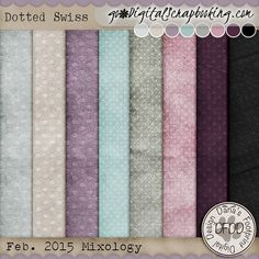 Lilacs & Lace Dotted Swiss papers