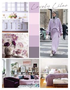 Lovely Lilac Fashion and Home Decor Interior Decorating, Interior Design, Home Staging, Home Organization, Lilac, Centre, Home Decor, Fashion, Nest Design