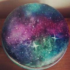 cake galaxy nebula cake torta galaxia fondant