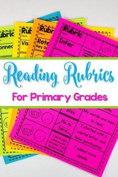 Reading Rubrics for