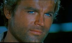 Terence Hill - Trinity series cowboy spaghetti movie star .... totally beautiful dude.