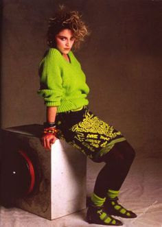 madonna 80's posters | madonna kills in 80 s day glo aviva aug 31 2010 from madonna embracing ...