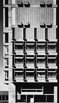Law Tower, Boston University, Boston, Massachusetts, 1964 (Sert, Jackson, Gourley)