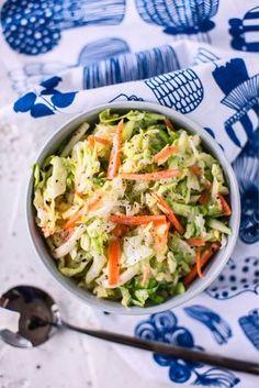 Coleslaw My Cookbook, Coleslaw, Lettuce, Cabbage, Food And Drink, Vegetables, Ethnic Recipes, Koti, Food Food