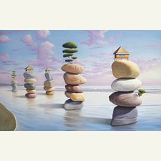 Paul Bond... Surrealist Painter...