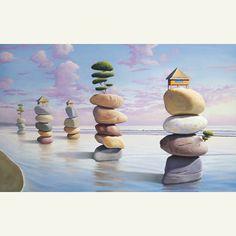 Paul Bond... Surrealist Painter...