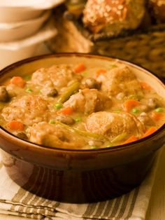 So yummy! The perfect chicken stew. Even good for a man that doesn't like soup for a meal.