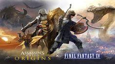 FINAL FANTASY XV Assassins Creed PS4 Xbox One https://youtu.be/iI8huv509wc