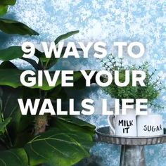9 ways to give your walls life by nifty nifty diy, nifty crafts, cool