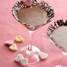 Sweetheart Chocolate Martini..
