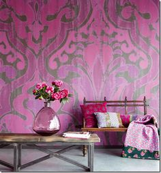Wall coverings and wallpaper can give your room exactly what it needs with a pop of color and creative design.