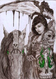 Pestilence, Asthenot artworks © - http://enchanted-arts.fr
