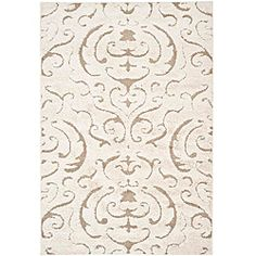 Hand-woven Ultimate Cream/ Beige Shag Rug (8' x 10')