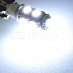W5W-501-194 LED Car Bulb 9-SMD SQ White 6000K - LED Auto Lights   LEDchoice.eu