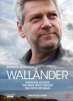 English version of the Swedish mystery/detective series. Stunning panoramas of Swedish landscapes. Series Movies, Movies And Tv Shows, Tv Series, Top Tv Shows, Great Tv Shows, Kurt Wallander, Best Television Series, Mystery Show, Kenneth Branagh