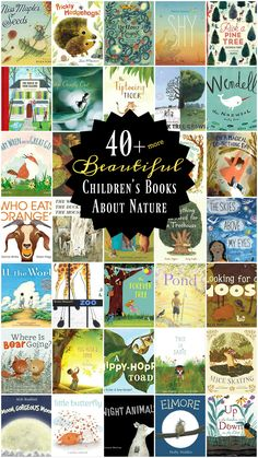 Beautiful Nature Books for Kids - so many good (new to me) books! Part 2 of the series (over 70 books total) Toddler Books, Childrens Books, Books For Toddlers, Toddler Fun, Most Beautiful Child, Beautiful Children, Nature Activities, Educational Activities, Educational Websites
