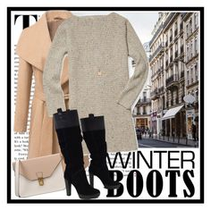 """""""Cold Winter"""" by nickyavakidou ❤ liked on Polyvore featuring Rebecca Minkoff, Links of London, 8 and BCBGMAXAZRIA"""