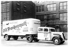 Old Frankenmuth Lager Beer Truck, Frankenmuth, Michigan