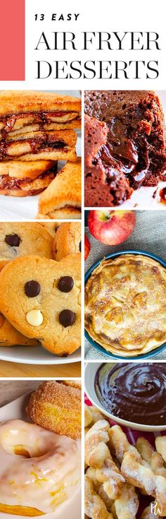 13 Desserts You Can Make in an Air Fryer